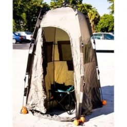 Complete Tailgating Porta Potty Kit - Portable Toilet With Privacy Tent - Stadium Pal