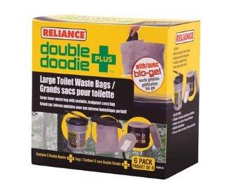 Reliance Double Doodie PLUS - Portable Toilet Waste Bags - Stadium Pal