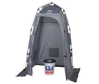 Restop Personal Privacy Tent - For Tailgating Camping Emergencies and Travel - Stadium Pal