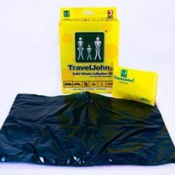 TravelJohn Solid Waste Collection Kit - Portable Toilet - Stadium Pal