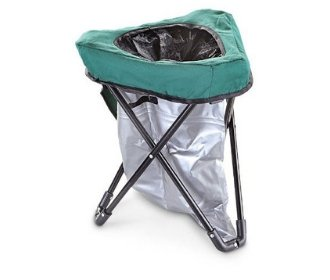 Tri-To-Go Tailgating Portable Toilet Chair - Stadium Pal