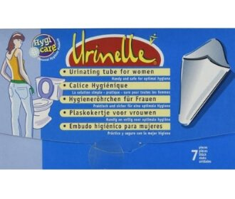 Urinelle - Urinating Tube For Women - Paper Cone Hygiene - Stadium Pal