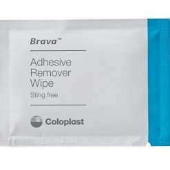 Brava Coloplast adhesive remover wipe - sting-free - external catheter adhesive remover