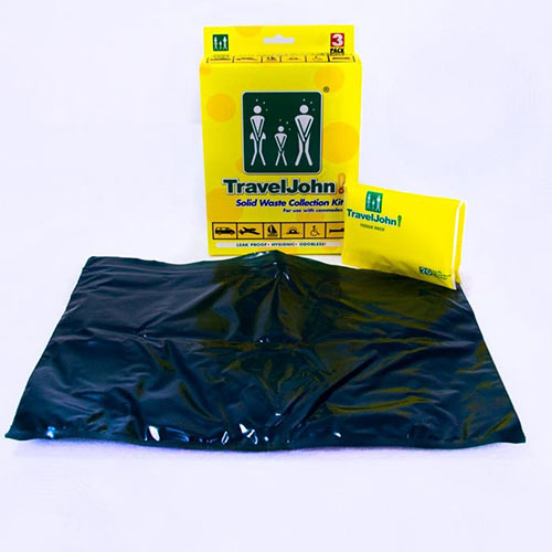 Solid Waste Collection Kit for portable toilet