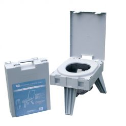GO Anywhere Portable Toilet - PETT - Strong Legs and Portable Case