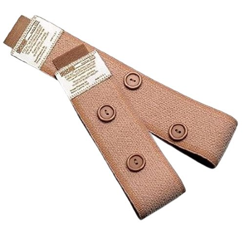 Fabric Leg Straps with Buttons Fitz All Urocare
